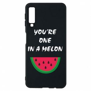 Phone case for Samsung A7 2018 You're one in a melon