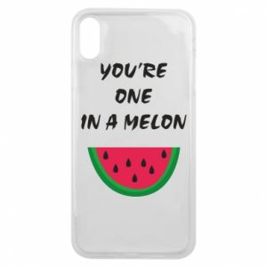 Phone case for iPhone Xs Max You're one in a melon