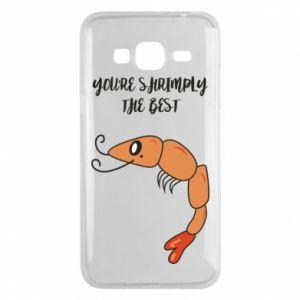 Etui na Samsung J3 2016 You're shrimply the best