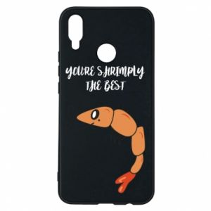 Etui na Huawei P Smart Plus You're shrimply the best