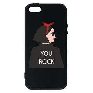 Etui na iPhone 5/5S/SE You rock