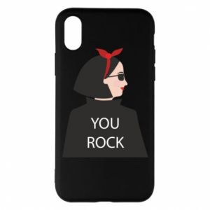 Etui na iPhone X/Xs You rock