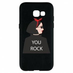 Etui na Samsung A5 2017 You rock