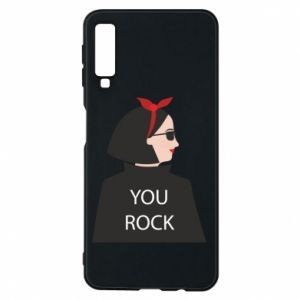 Etui na Samsung A7 2018 You rock