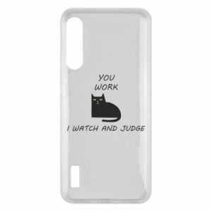 Etui na Xiaomi Mi A3 You work i watch and judge