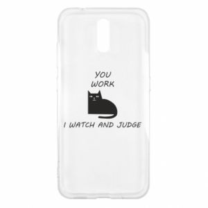 Nokia 2.3 Case You work i watch and judge