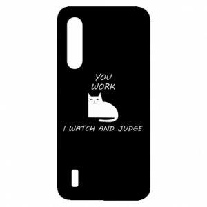 Etui na Xiaomi Mi9 Lite You work i watch and judge