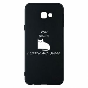 Samsung J4 Plus 2018 Case You work i watch and judge