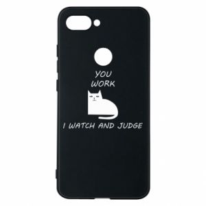 Phone case for Xiaomi Mi8 Lite You work i watch and judge
