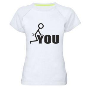 Damska koszulka sportowa You
