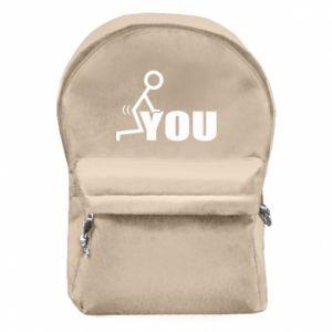 Plecak z przednią kieszenią You