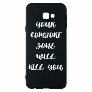 Etui na Samsung J4 Plus 2018 Your comfort zone will kill you