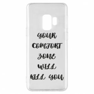 Etui na Samsung S9 Your comfort zone will kill you