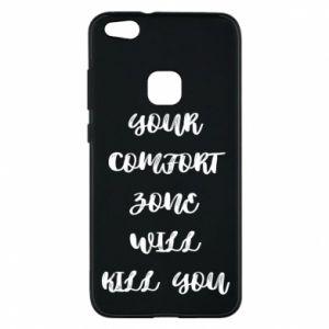 Etui na Huawei P10 Lite Your comfort zone will kill you
