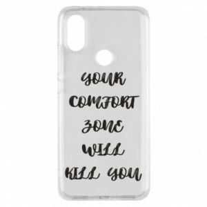 Etui na Xiaomi Mi A2 Your comfort zone will kill you