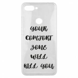 Etui na Xiaomi Mi8 Lite Your comfort zone will kill you