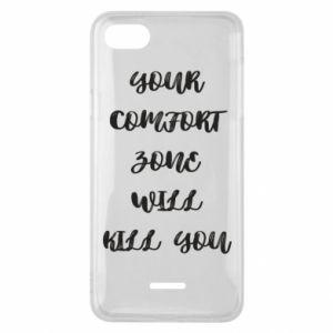 Etui na Xiaomi Redmi 6A Your comfort zone will kill you