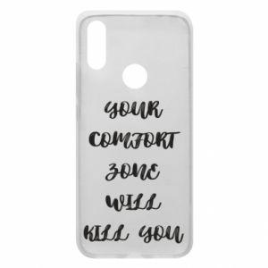 Etui na Xiaomi Redmi 7 Your comfort zone will kill you