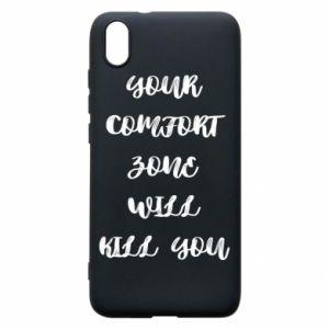 Etui na Xiaomi Redmi 7A Your comfort zone will kill you