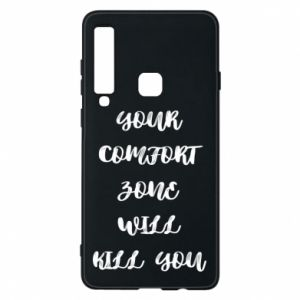 Etui na Samsung A9 2018 Your comfort zone will kill you