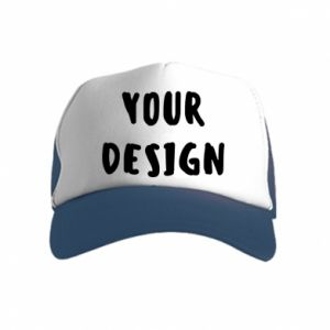 Kid's Trucker Hat Your design