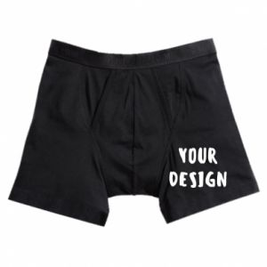 Boxer trunks Your design
