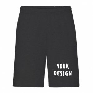 Men's shorts Your design