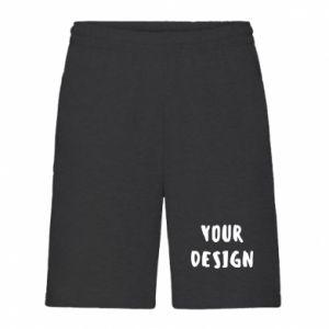 Men's shorts Your design