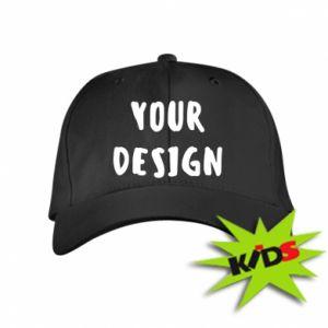 Kids' cap Your design
