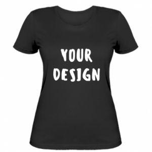 Women's t-shirt Your design