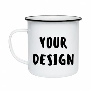 Enameled mug Your design