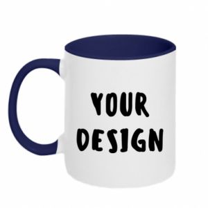 Two-toned mug Your design