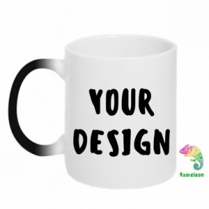 Chameleon mugs Your design
