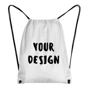 Backpack-bag Your design