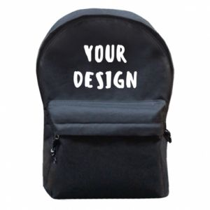 Backpack with front pocket Your design