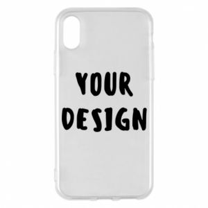 Phone case for iPhone X/Xs Your design
