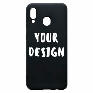 Phone case for Samsung A20 Your design
