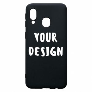 Phone case for Samsung A40 Your design