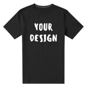 Men's premium t-shirt Your design