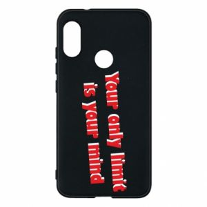 Etui na Mi A2 Lite Your only limit is ...