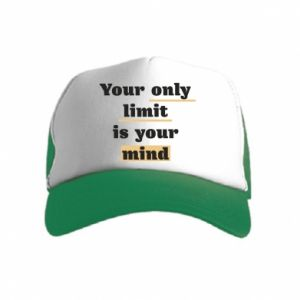 Kid's Trucker Hat Your only limit is your mind