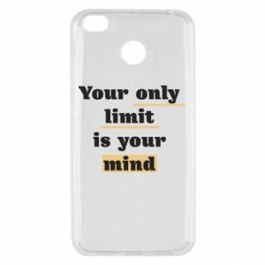 Xiaomi Redmi 4X Case Your only limit is your mind