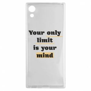 Sony Xperia XA1 Case Your only limit is your mind