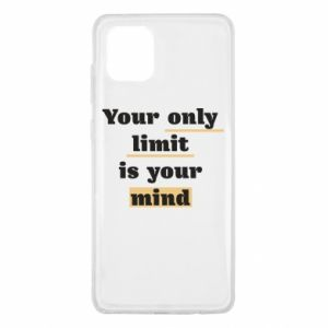 Samsung Note 10 Lite Case Your only limit is your mind
