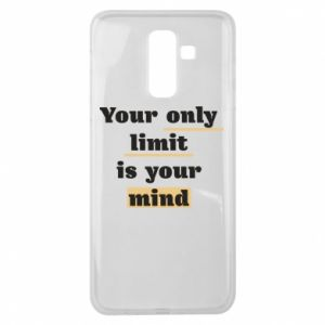Samsung J8 2018 Case Your only limit is your mind