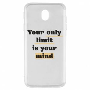 Samsung J7 2017 Case Your only limit is your mind