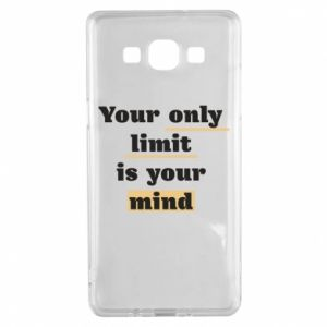 Samsung A5 2015 Case Your only limit is your mind