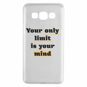 Samsung A3 2015 Case Your only limit is your mind