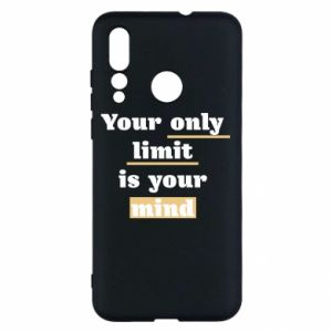 Huawei Nova 4 Case Your only limit is your mind