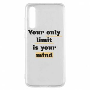 Huawei P20 Pro Case Your only limit is your mind